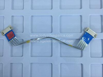 EAD62370712 , LG , 42LN575S , 42LA620S , LC420DUE SF U1 , LC420DUE SF R3 , LVDS Cable , Lvds Kablosu , Logic Board Cable , Logic Kart Kablosu , Ctrl Board Cable , Ctrl Kart Kablosu