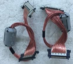 SHARP - LC-52XD1E , LCD , SHARP , LVDS Cable , Lvds Kablosu , Logic Board Cable , Logic Kart Kablosu , Ctrl Board Cable , Ctrl Kart Kablosu