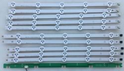LG - LG , LC420DUE SF R3 , 42LN5400 , YUMATU , 6916L-1385A , 6916L-1386A , 6916L-1387A , 6916L-1388A , 10 ADET LED ÇUBUK
