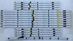 SAMSUNG - SAMSUNG , CY-HF460CSLV1H , UE46F6340 , D2GE-460SCA-R3 , D2GE-460SCB-R3 , 16 ADET LED ÇUBUK